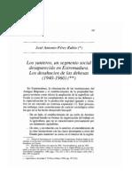 Perez RubioAGRSOC. Los Yunteros, Un Segmento Social Desaparecido en Extremadura