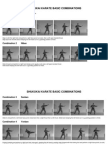 Traditional Shukokai Karate Basic Combinations