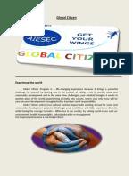 Booklet Global Citizen 2013