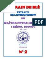 "Peter Deunov ""Le Grain de Ble""  2"