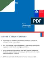 PPT 1 Primeros Auxilios  Psicológicos ONEMI