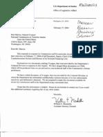 T4 B13 DOJ Material Fdr- 2-27-04 Document Request Response w 10-12-99 DOJ Memo Re IRS and 2-14-00 DOJ Memo Re USAID 942