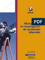 Investigación de Accidentes Laborales