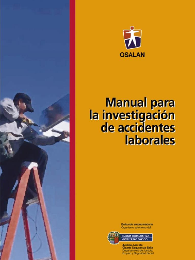 Investigación de Accidentes Laborales