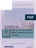 Fluidized Bed Gasifier Design Report Public)