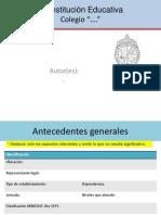 Informacion Institucional Anexa