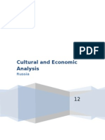 Russia Cultural and Economic Analysis