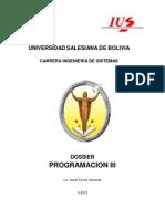 Dossier Programación III