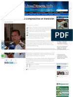 03-09-2013 'Pepe' Elías integra a empresarios en transición