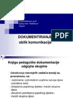 Pisanje pedagoske dokumentacije