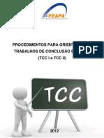 Procedimentos Para Trabalho de Conclusao de Curso Na Feapa 2012-1