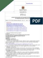 LPM317 privind actele normative ale Guvernului şi ale altor autorităţi