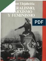 Eleijabetia Carmen - Liberalismo Marxismo Y Feminismo