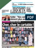 LIBERTE DU 04.09.2013
