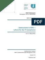 Datenschutz in KMU - Lehren für die IT-Compliance