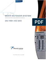 PowerWave 044-05307 OS-1991-H0-003 Installation and Service Manual Rev A