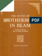 2009_06!18!02!39!39.PDF the Duties of Brotherhood in Islam