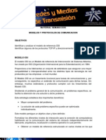 Modelos y Protocolos de Comunicacion