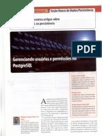 Artigo Revista SQL Magazine Sobre PostgreSQL