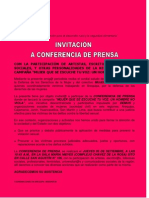 Invitacion a Conferencia de Prensa a Color 2