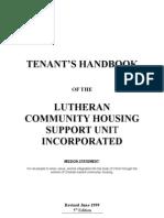 Tenants Handbook