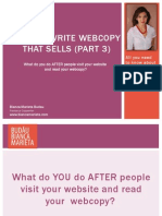 Web Copy That Sells (Content Marketing and Optin Offers)