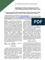 Classificação etnopedológica dos Solos dos Kaxinawas da Terra  Indígena Kaxinawa do Nova Olinda, município de Feijó, Estado do Acre