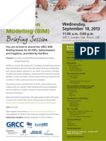 BIM Briefing Session 9.18.13
