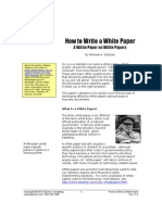 HowTo WhitePaper