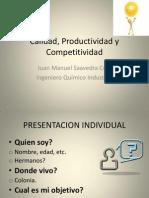 Case 1 Calidad, Productividad y Competitividad
