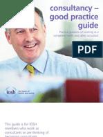 IOSH Consultancy - Good Practice Guide-2012