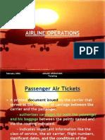 The Passenger Ticket