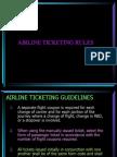 Rules Airfare Computation