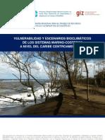 Vulnerabilidad y escenarios bioclimáticos de los sistemas marino-costeros a nivel del caribe centroamericano