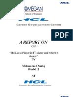 HCL cdc bring IT PROFESSIONALS