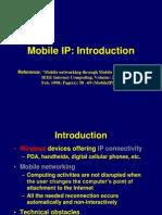 MobileIP Intro