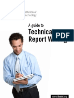 A Guide to Technical Report Writing