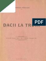 Vasile Pârvan, Dacii la Troia