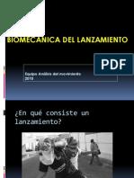 Biomecánica del Lanzamiento