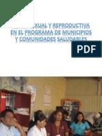 Salud Sexual y Reproductiva en El Programa De