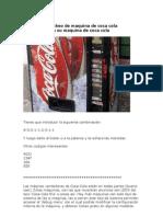 Hackear a Maquina de Coca Cola