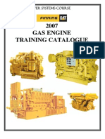 CustomerGas Engine Training Catalogue 2007