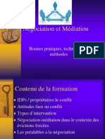 Negociation Et Mediation