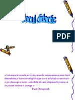 Jocul Didactic