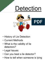 Lie Detection Final