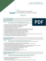 Programa I Curso Instrumentos Para La Gestion de La Seguridad