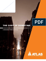 The Cost of Downtime - Tips for understanding, planning for, and minimizing the consequences of outages and business interruptions