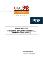 Guidelines for OSCEs