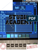 STUDIO ACADEMY Applications Autumn 2013