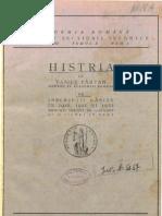 Vasile Pârvan, Histria VII. Inscripţii găsite în 1916, 1921 şi 1922